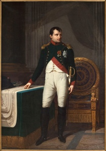 Portrait de NapolÈon Ier (1769-1821), en uniforme de colonel des chasseurs de la Garde