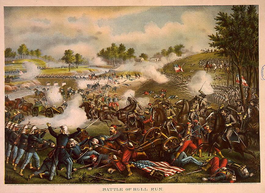First_Battle_of_Bull_Run_Kurz_&_Allison