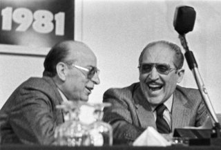 Palermo 1981 Vito Ciancimino (right He was the first Italian politician to be found guilty of Mafia membership
