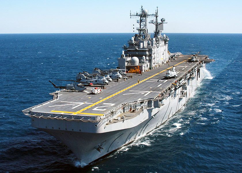 Mistral-helicopter-carriers